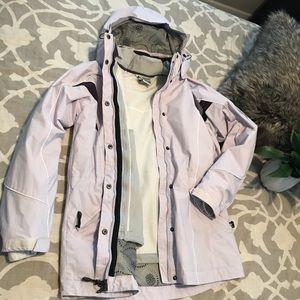 Columbia Dual Wear Coat with Fleece Jacket